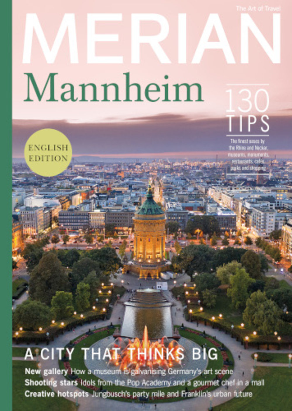 MERIAN English-Edition Mannheim