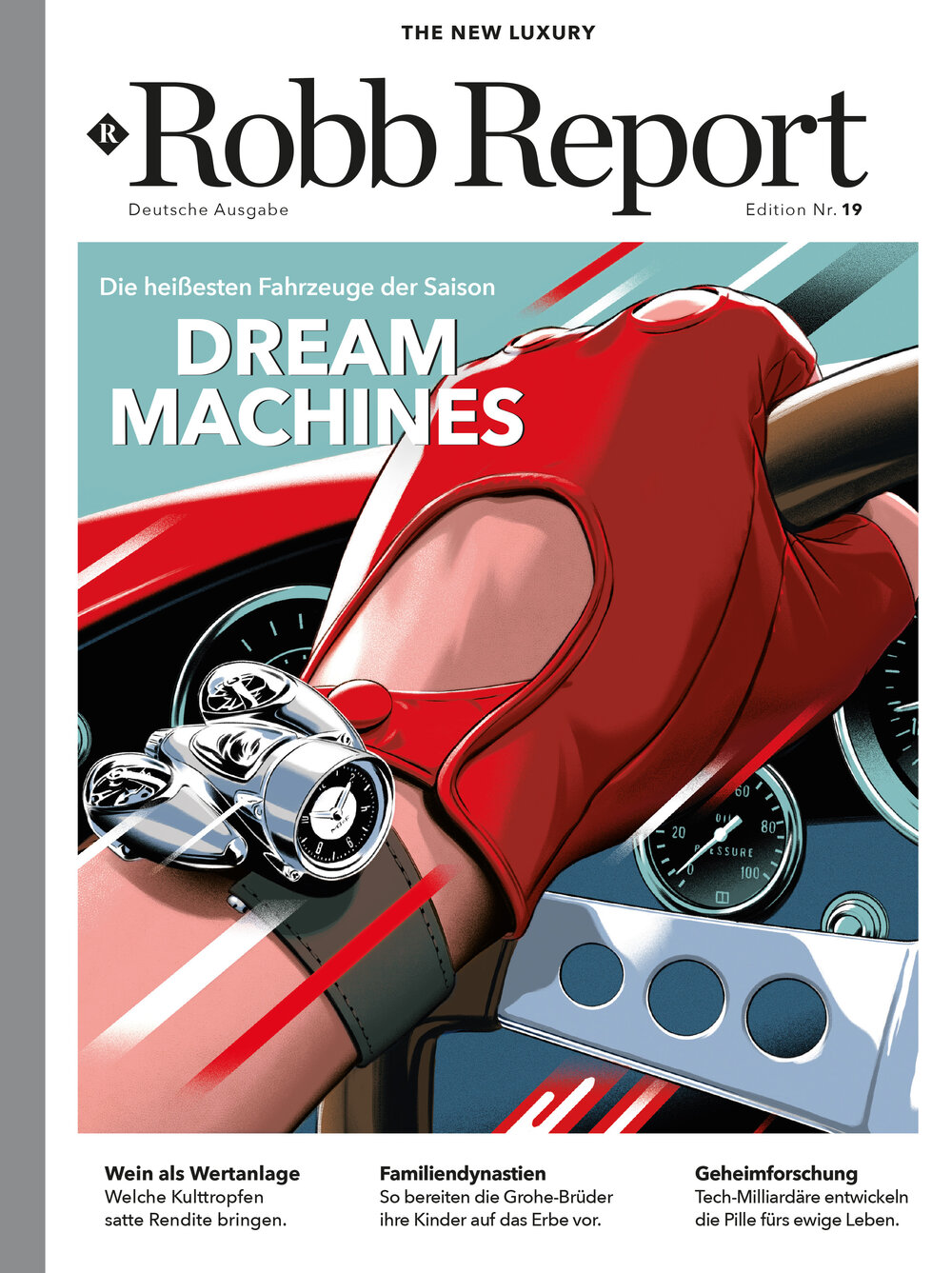 ROBB REPORT Digital-Abo (1/2 Jahr)