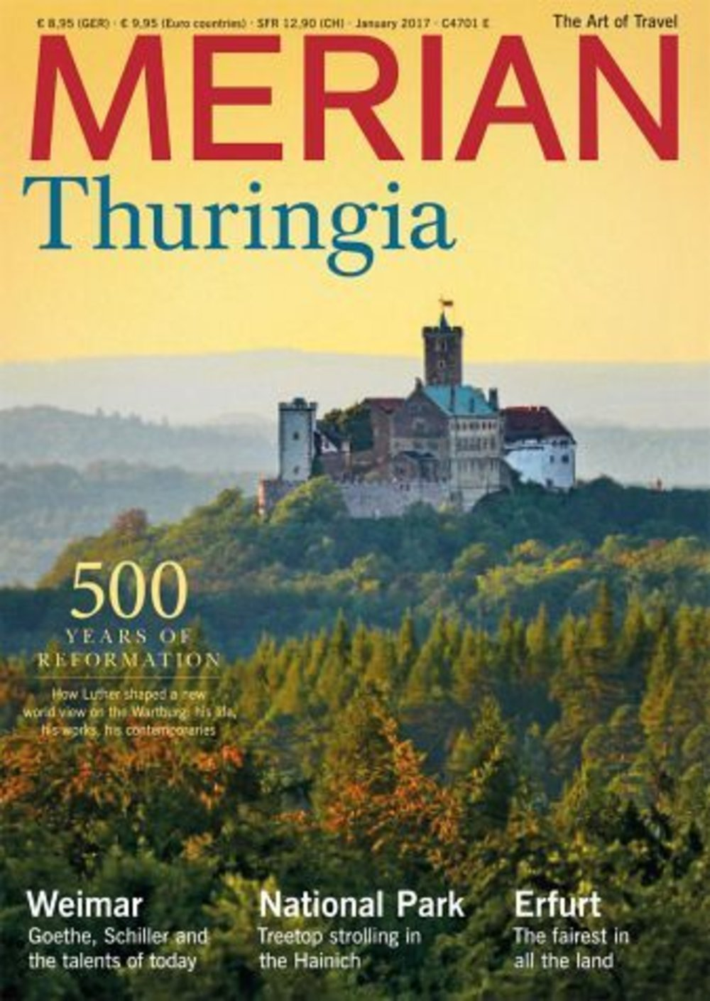 MERIAN English-Edition Thuringia