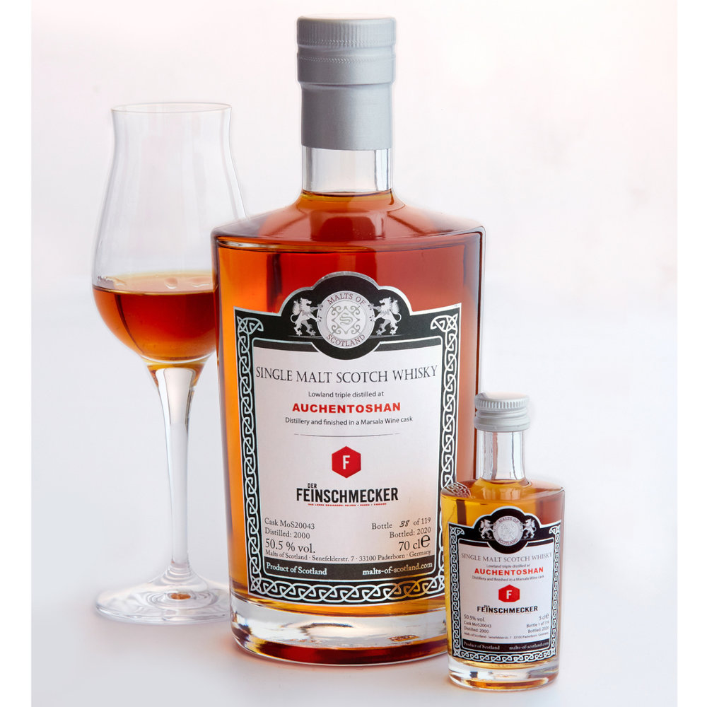 DER FEINSCHMECKER - Whisky Edition Auchentoshan 2000, Marsala Cask Finishh,